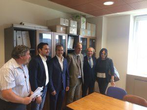 Nella foto da sx Nicola Cirillo, Ernesto Francesco Alecci, Cataldo Minò, Cosimo Carmelo Caridi, Antonio