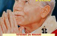 San Giovanni Paolo II oggi a Scilla