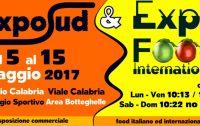 """Dal 5 al 15 Maggio a Reggio Calabria """"Expo Sud & Expo Food"""""""