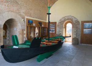 Il Luntre, custodito nel Castello Ruffo di Scilla