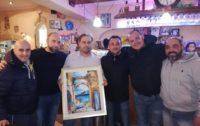 La Pizzeria Ermes vince il quadro di Maria Munafò