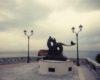 SCILLA Ricollocata in piazza San Rocco la statua mitologica di Triglia