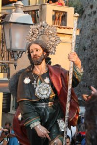 San Rocco in processione