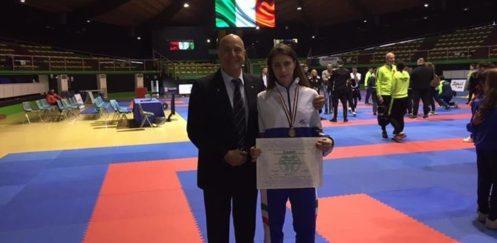 SPORT KARATE La scillese Angela Briganti si laurea Campionessa Italiana Esordienti