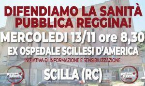 Presidio di Potere al Popolo - Scilla-300x177