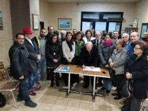 La storica firma che segna la nascita del comitato Salviamo Favazzina.